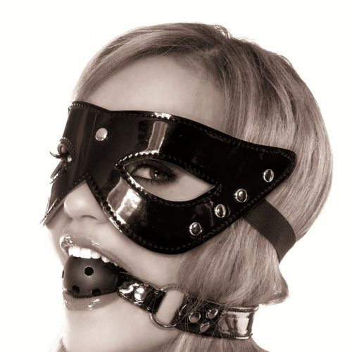 Masquerade Mask & Ball Gag