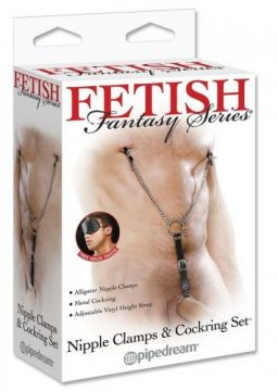 Nipple Clamps Cockring Set