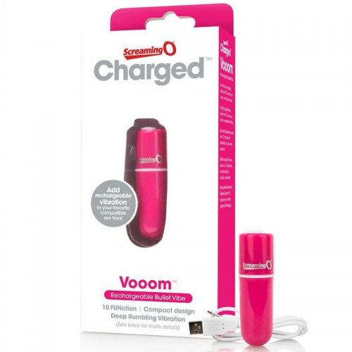 ScreamingO Rechargeable Bullet Pink
