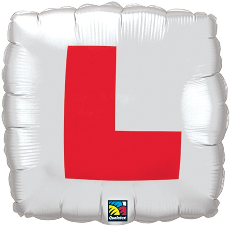 Square L Plate Balloon