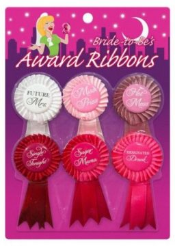 Bride To Be Ribbons