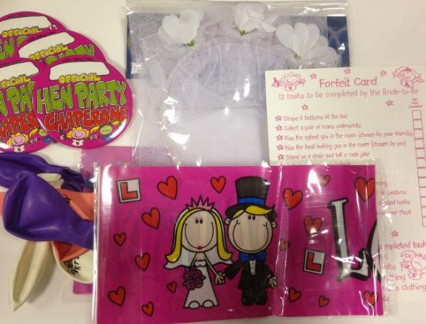 Hen Party Goodie Pack