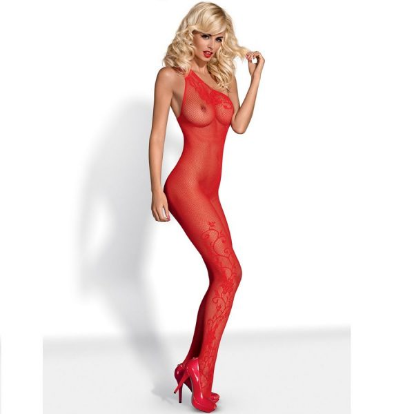 Obsessive Red Body Stocking