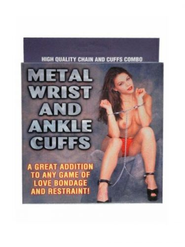 Handcuffs and Ankle Cuffs